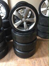 Genuine Audi A1/S1 rotor alloys