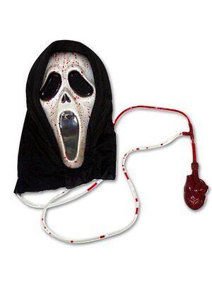 lich Scream Kostüm Erwachsene Süßes oder Saures Halloween (Blut Scream Maske)