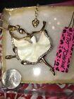 Betsey Johnson Alloy White Fashion Necklaces & Pendants