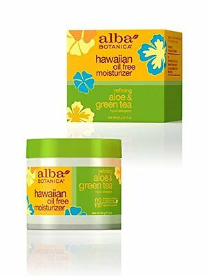 Tea Oil Free Moisturizer (Alba Hawaiian Oil-Free Moisturizer Aloe & Green Tea - 3 oz (Pack of 6))