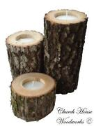 Log Cabin Candles