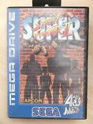 Sega MEGADRIVE Games Street Fighter
