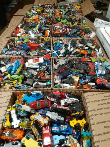 HUGE Lot Hot Wheels Matchbox Etc USPS Medium Flat Rate Box Full FREE SHIPPING!
