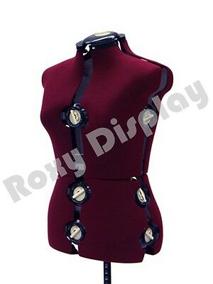 Adjustable Sewing Dress Form Female Mannequin Torso Stand Medium Size Jf-fh-8
