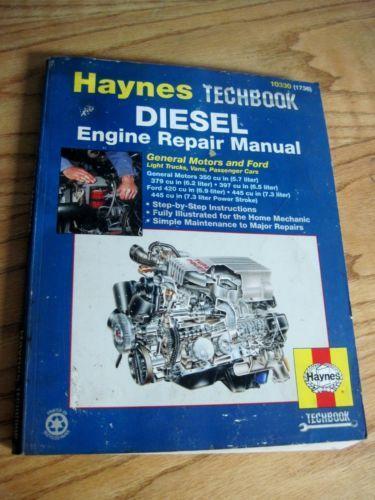 Diesel repair manual ebay fandeluxe Gallery