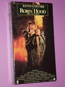 Robin Hood Prince of Thieves VHS