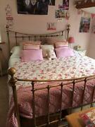 King Size Brass Bed