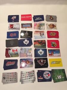 WANTED: All Canadian Gift Cards - top value ⭐⭐