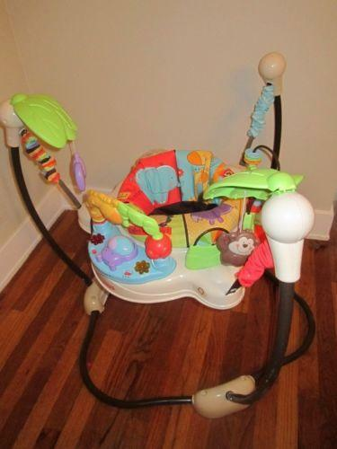 Used Jumperoo Baby Jumping Exercisers Ebay