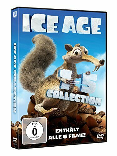 Ice Age 1-5 - Collection (Alle 5 Filme) - DVD / Blu-ray - *NEU*