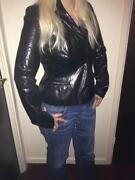 Warehouse Black Leather Jacket