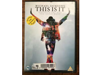 Michael Jackson - This Is IT - DVD - VGC