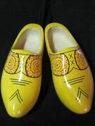 Hand Carved Dutch Wooden Shoes