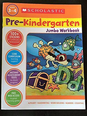Scholastic Pre-Kindergarten Jumbo Workbook - Kindergarten Crafts
