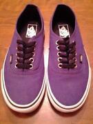 Womens Vans Shoes Size 8
