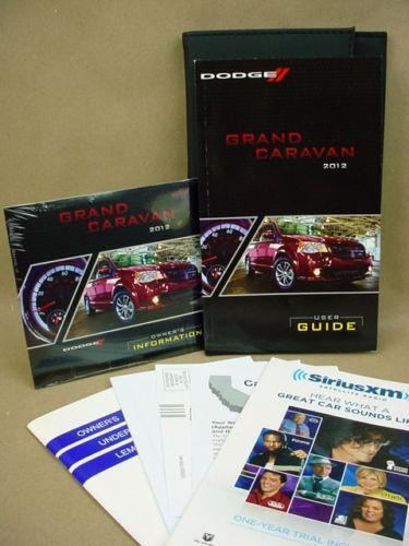 dodge grand caravan owners manual ebay