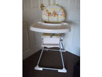 Baby High chair in very good condition as not used that much