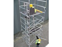 WANTED Aluminium Scaffold Towers & Components Such as Boss Youngman Lewis Lyte Euro etc