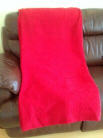 Red Curtains (One Pair)