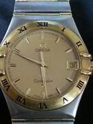 Mens Omega Gold Watch