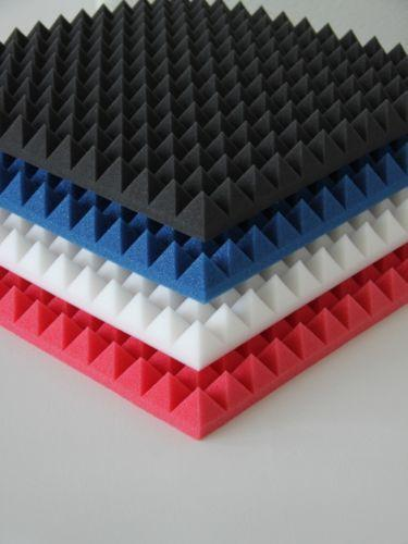 schallschutz schaumstoff plattend mmung ebay. Black Bedroom Furniture Sets. Home Design Ideas