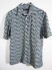 Jhane Barnes Short Sleeve Regular L Casual Shirts for Men