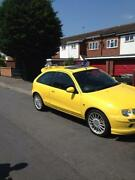 MG ZR Yellow