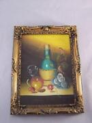 Oil Painting Ornate Frame