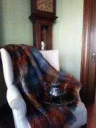 Mohair Blanket Throw
