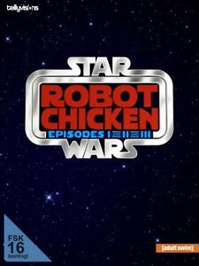 Robot Chicken Star Wars - Episode I, II, III auf DEUTSCH, 3 DVD Set NEU + OVP!
