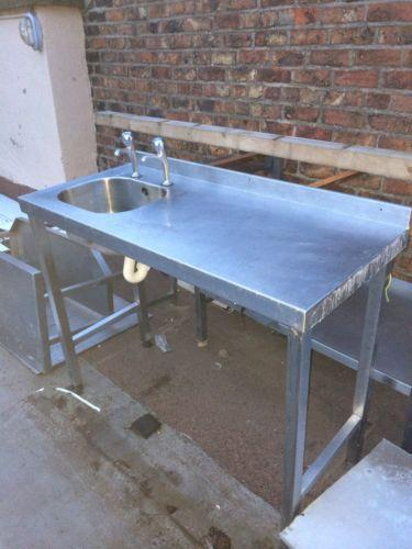 used commercial kitchen sinks stainless steel used stainless steel sink ebay 9558
