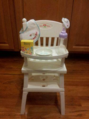 Bitty Baby High Chair Ebay