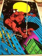 Marvel Black Light Poster