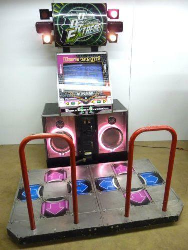 Dance Dance Revolution Arcade Ebay