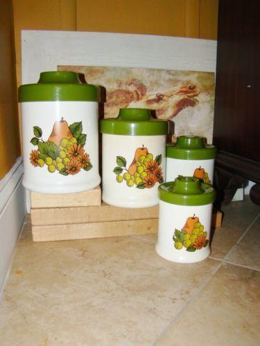 vintage kitchen canisters ebay french kitchen canisters ebay