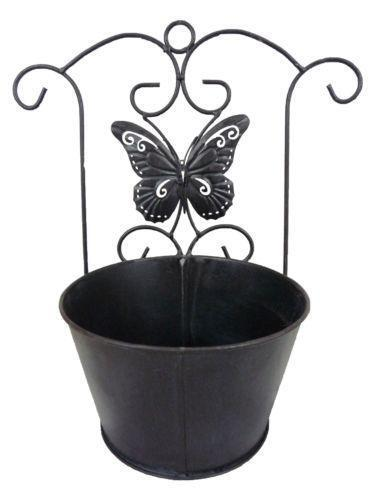 Metal Wall Planter Ebay