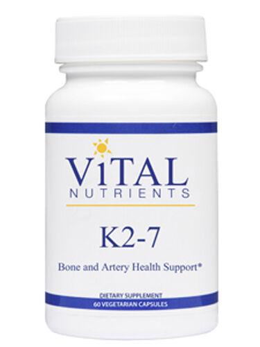 Vital Nutrients Vitamin K2-7 60 Vegcaps