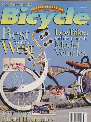 lowrider bicycle magazine ebay. Black Bedroom Furniture Sets. Home Design Ideas