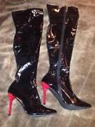PVC Thigh Boots