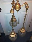 Vintage Globe Ceiling Light
