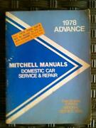 Mitchell Repair Manual