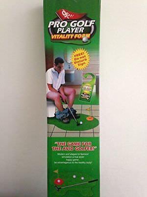Golf Novelty (Novelty Golf Toilet set / potty putter trainer fun novelty gift)