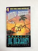 Jimmy Buffett Signed