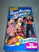 Disney Sing Along Songs Disneyland Fun