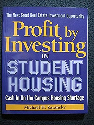 Profit By Investing In Student Housing  Cash In On The Campus Housing Shortage