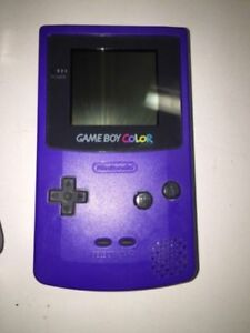 GBA gameboy handheld and games