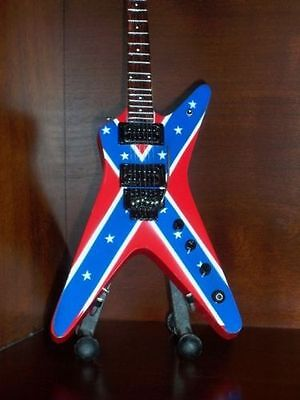 Mini Guitar PANTERA DIMEBAG DARRELL Display Gift Memorabilia FREE Stand ART