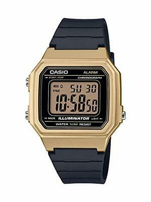 Casio Men's Quartz Resin Strap, Black, 23.6 Casual Watch (Model: W-217HM-9AVCF)