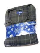Mens Flannel Pajama Set