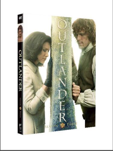 BRAND NEW SEALED OUTLANDER SEASON 3 THREE 3RD (DVD) USA FREE SHIPPING!